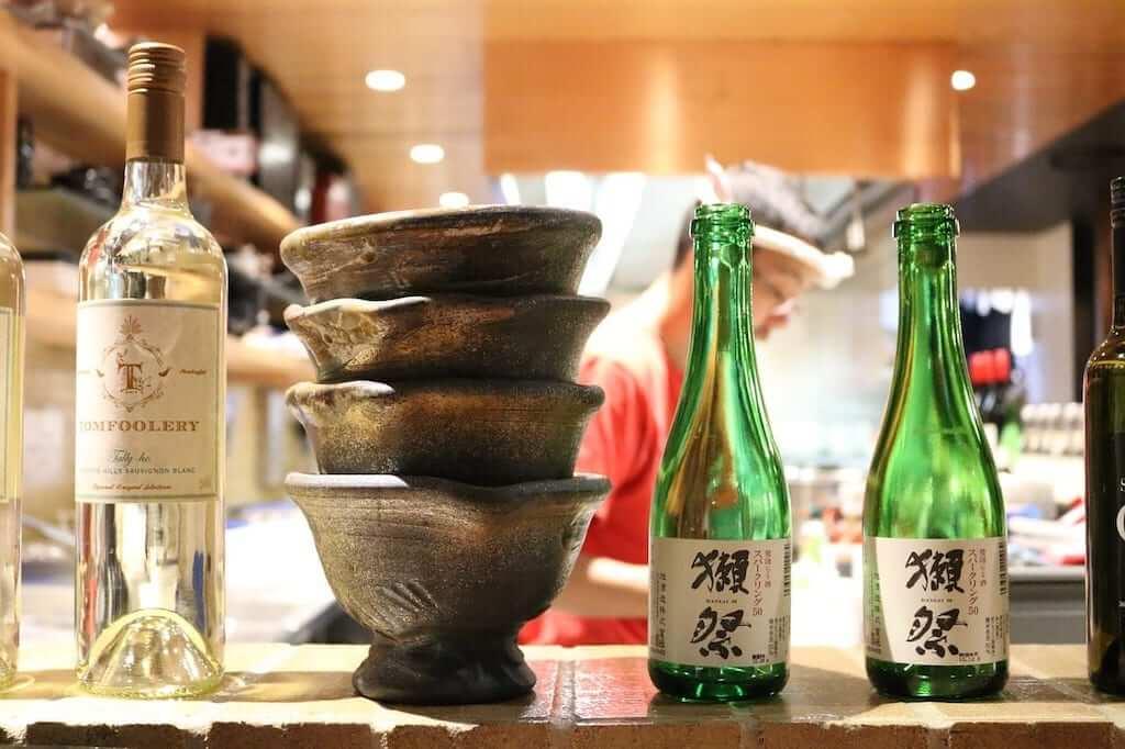 japanese sake drinks