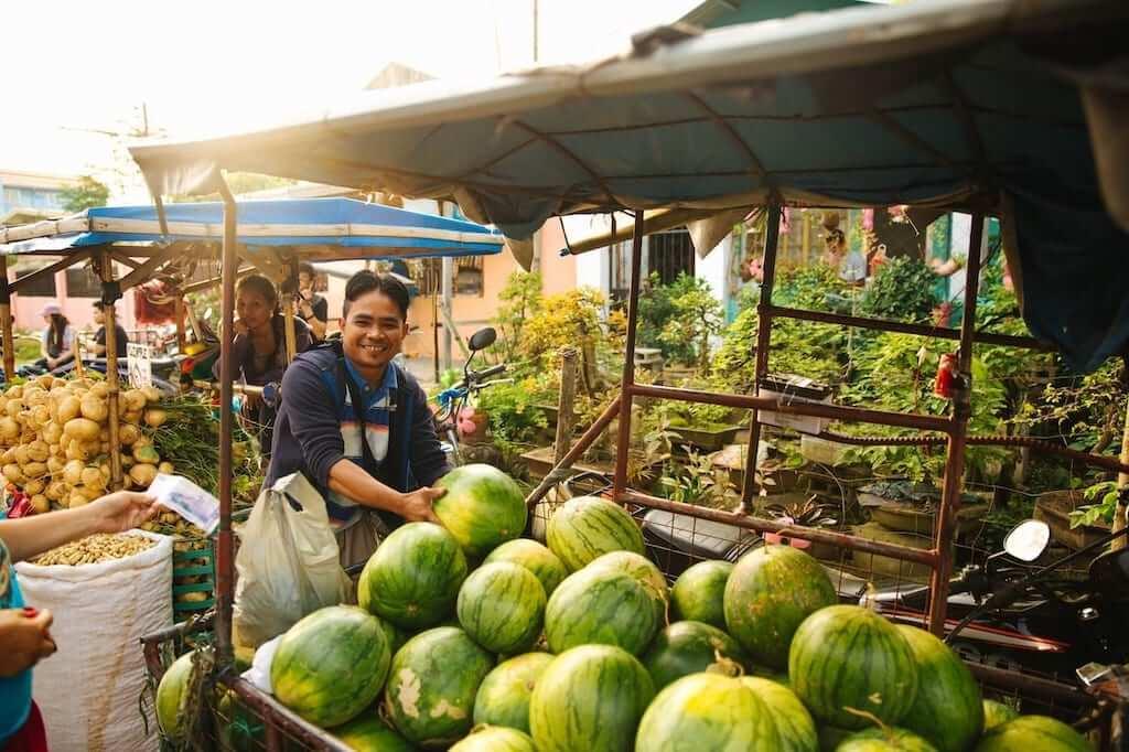 market shopkeeper