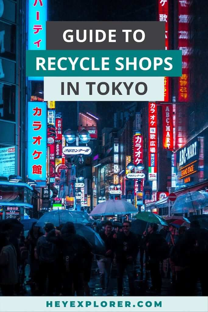 recycle shops tokyo