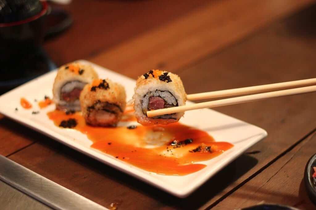 sushi chopsticks