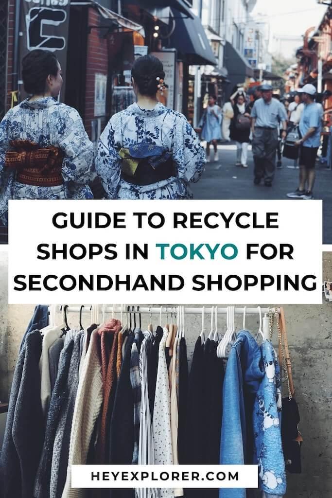 tokyo secondhand shops