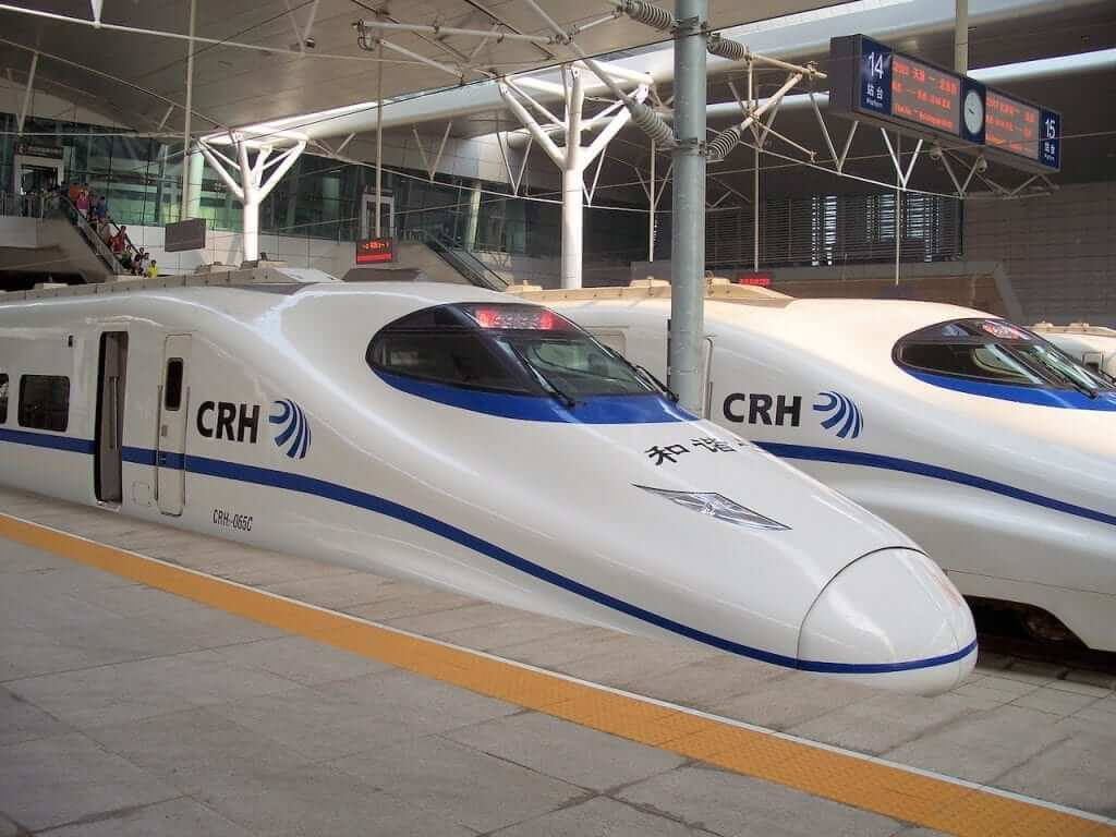 The bullet train is an affordable and convenient way of travelling from city to city