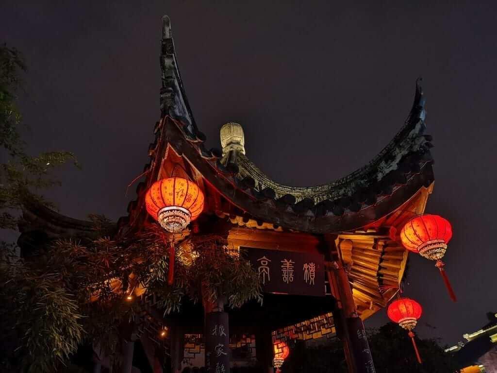 chinese temple nanjing