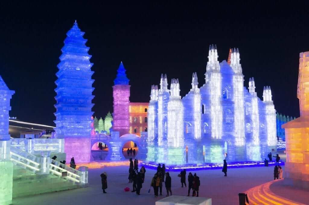 The Harbin Ice Festival is pricey, but it's an amazing experience.