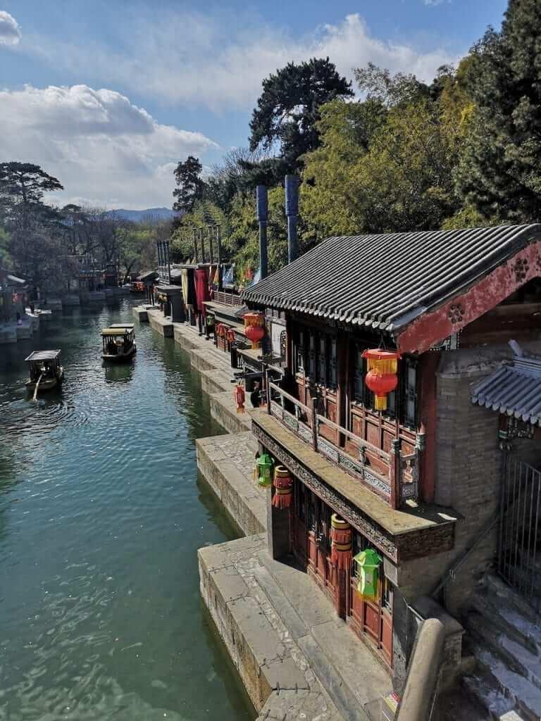 summer palace river
