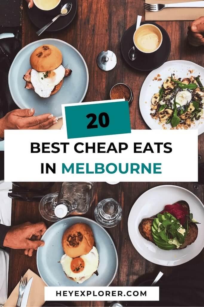cheap eats in melbourne