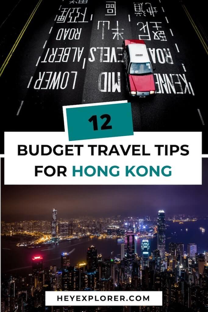 hong kong budget tips