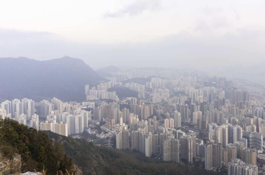 lion rock peak hk