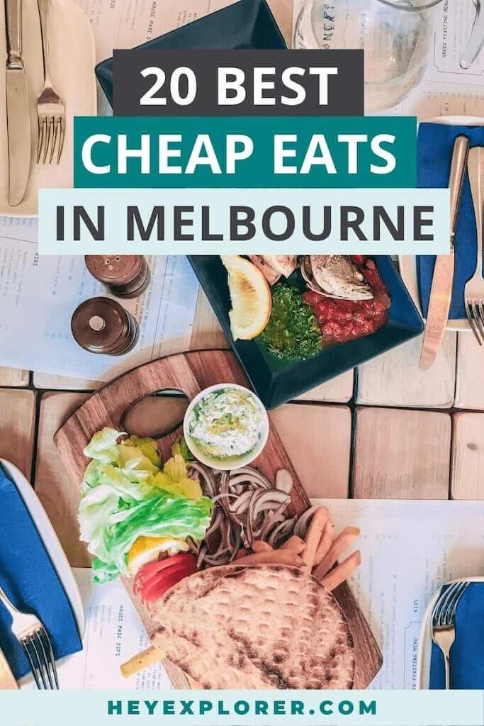 melbourne cheap eats