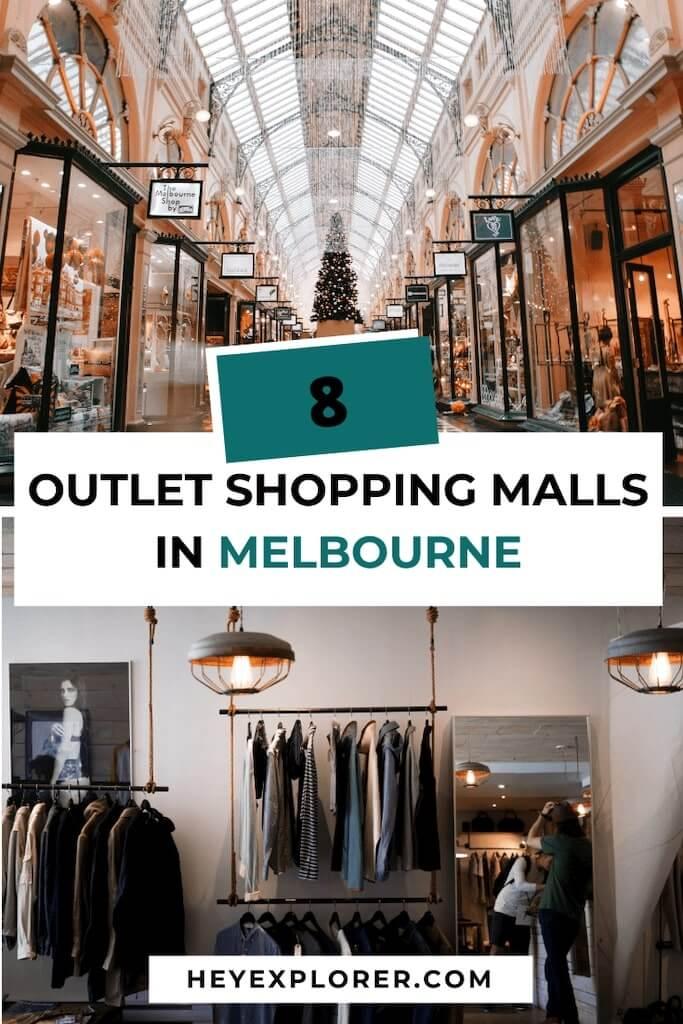 melbourne outlet malls
