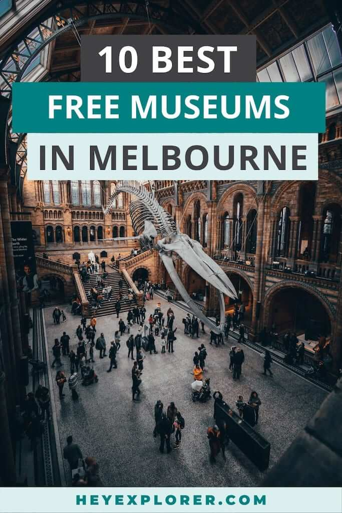 free museums melbourne