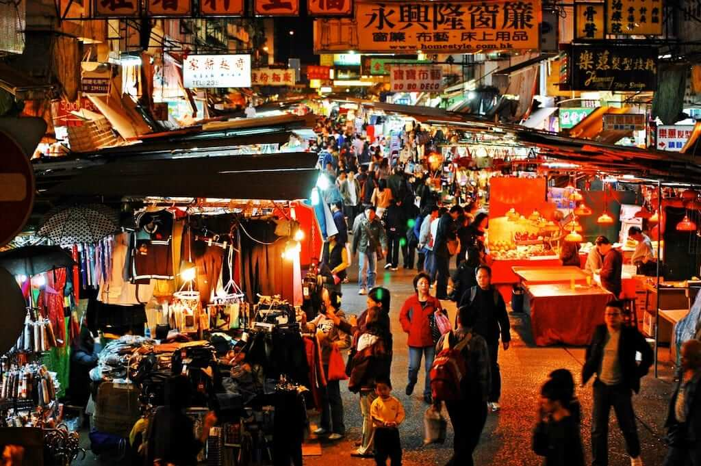 night market hk