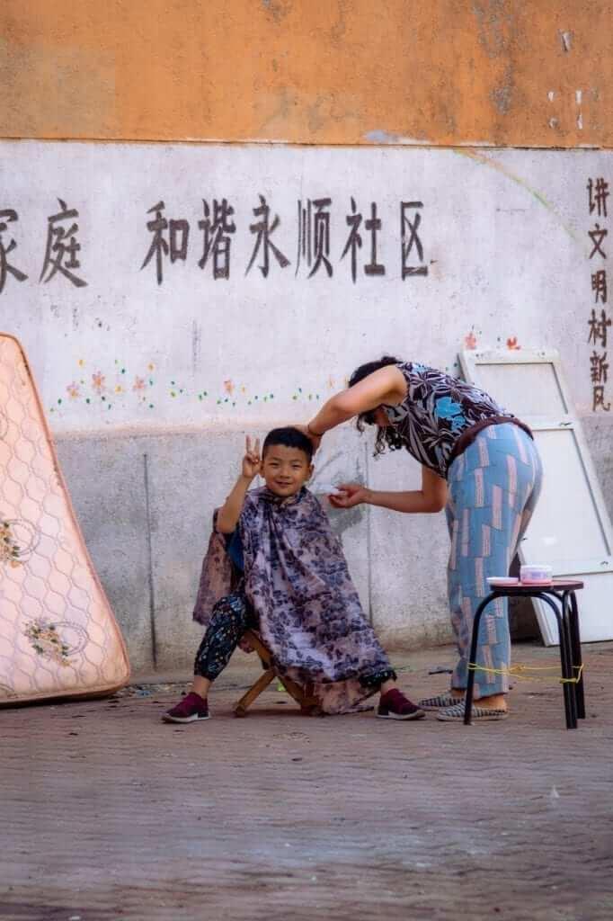 chinese boy haircut