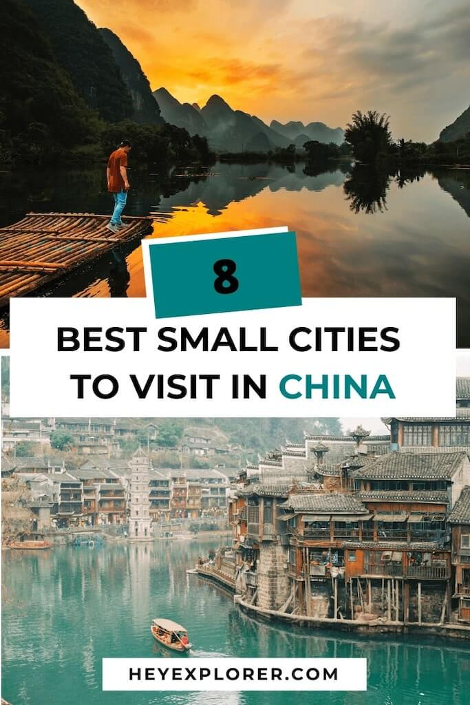 small cities in china