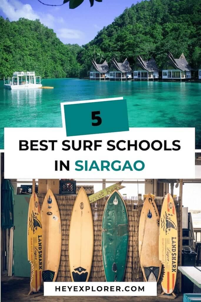 best surf schools siargao