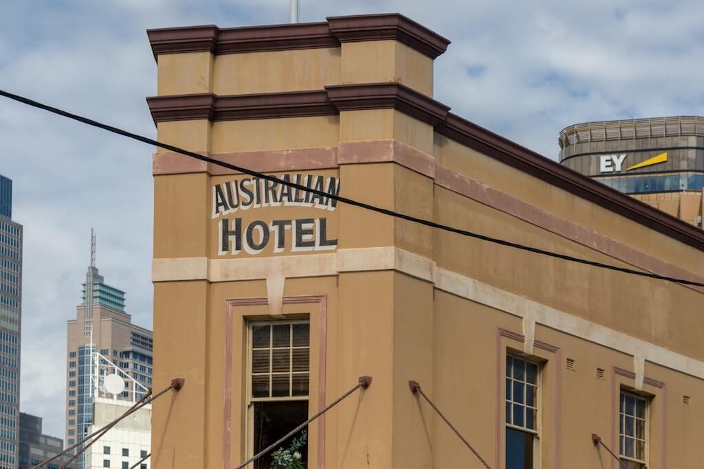 Australian Hotel is located in The Rocks, Sydney