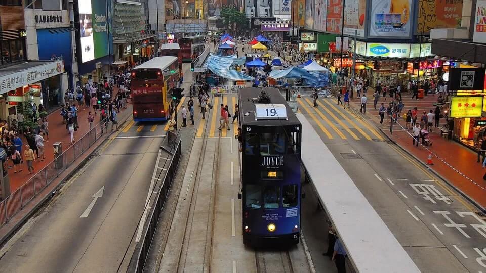 Causeway bay is Hong Kong's famous shopping spot