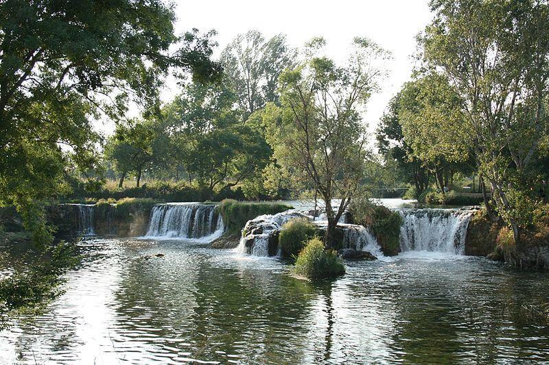 Čeveljuša Waterfall
