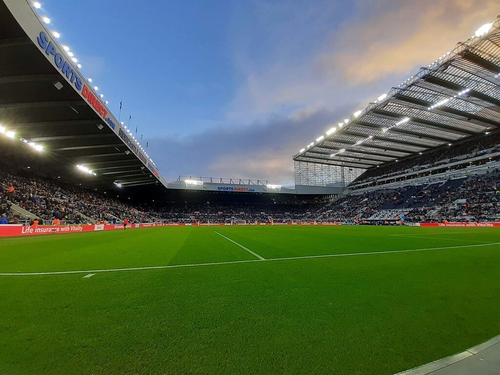 St James' Park in Newcastle