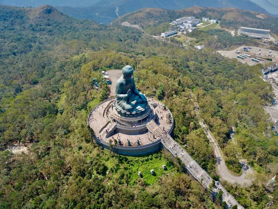 Hong Kong is famous for the Tian Tian Buddha