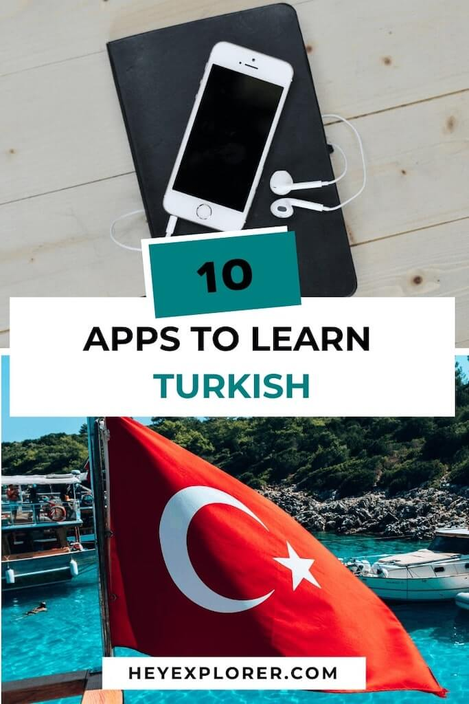 apps to learn turkish