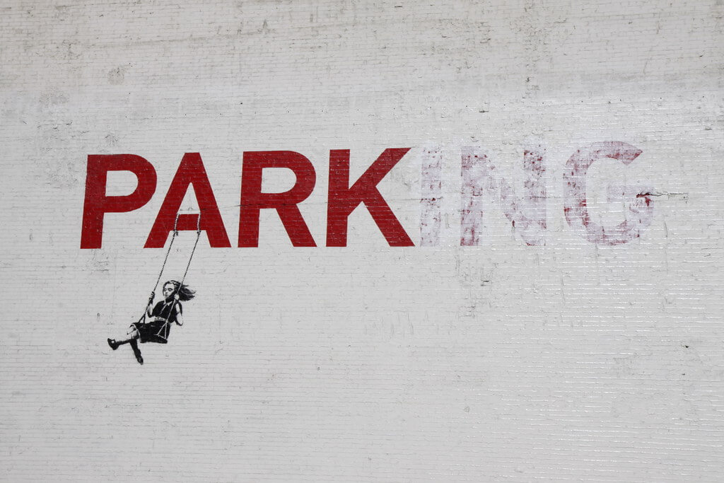 Bristol is famous for the street artist Banksy