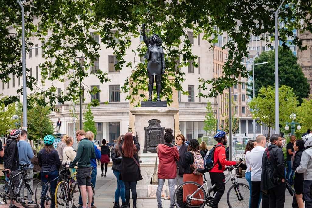 bristol colston statue