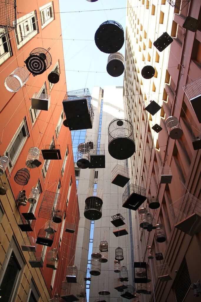 The Forgotten Songs Sound Sculpture, an art installation in Sydney
