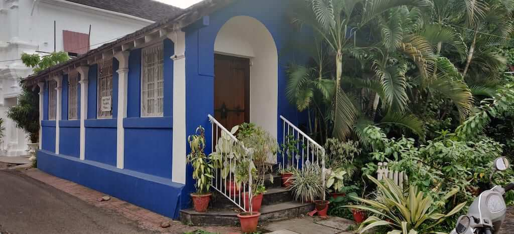 The Portuguese influence can be seen in the Goan architecture