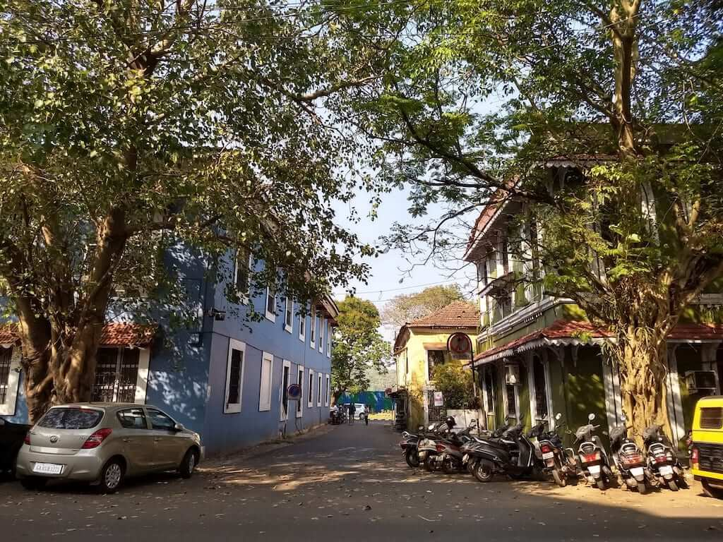 Buildings in Panjim