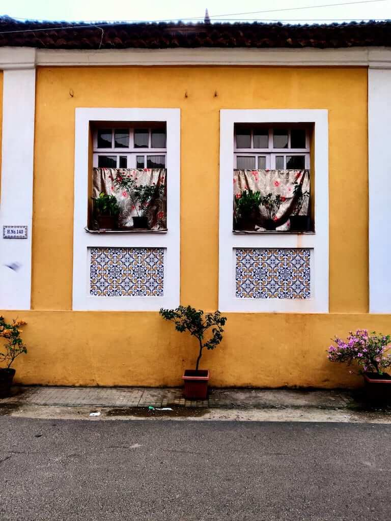 A pretty house in Fontainhas