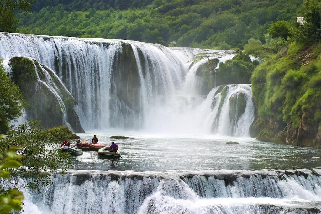 Kostelski Buk Waterfall