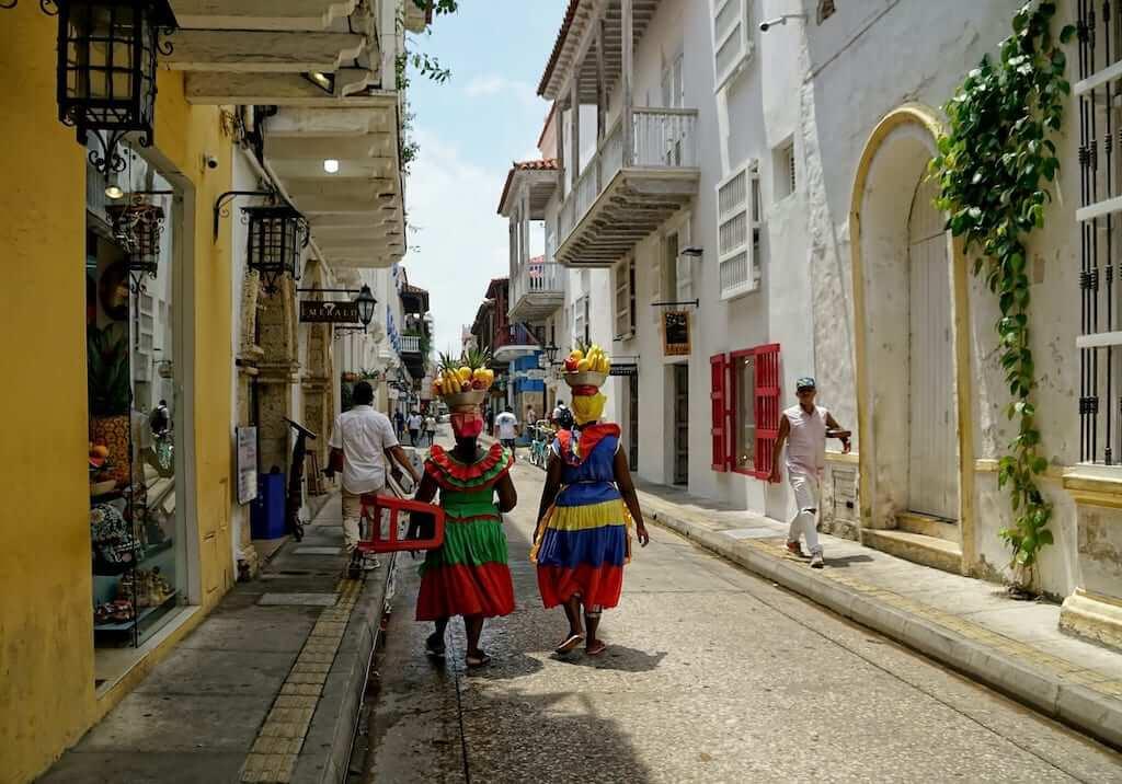 ladies in Cartagena