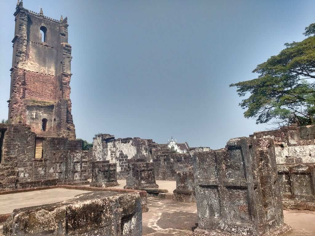 Ruins of St Augustine Church