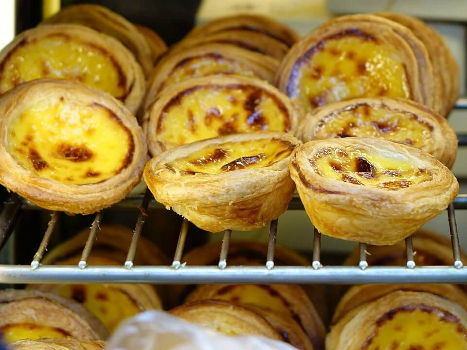 Hong Kong is famous for its egg tarts