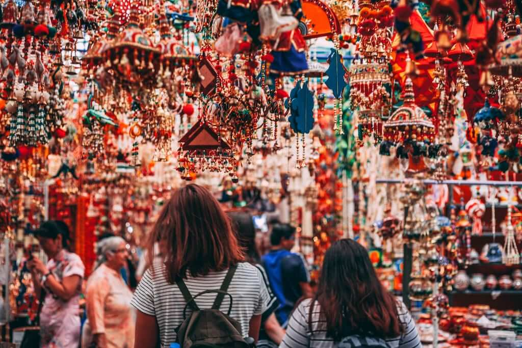 Goa is famous for flea markets and here, you can get anything you want - spices, clothes, jewellery, handcrafted art pieces, tattoos, and even beer.