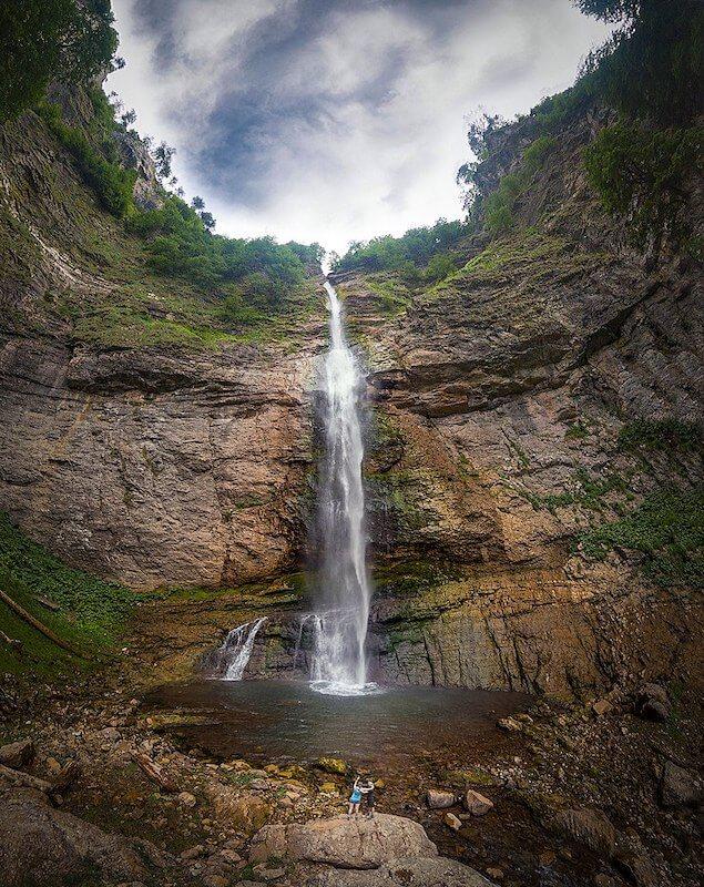 Skakavac Waterfall (Perućica)