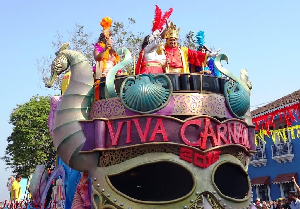 The Viva Carnival in Goa