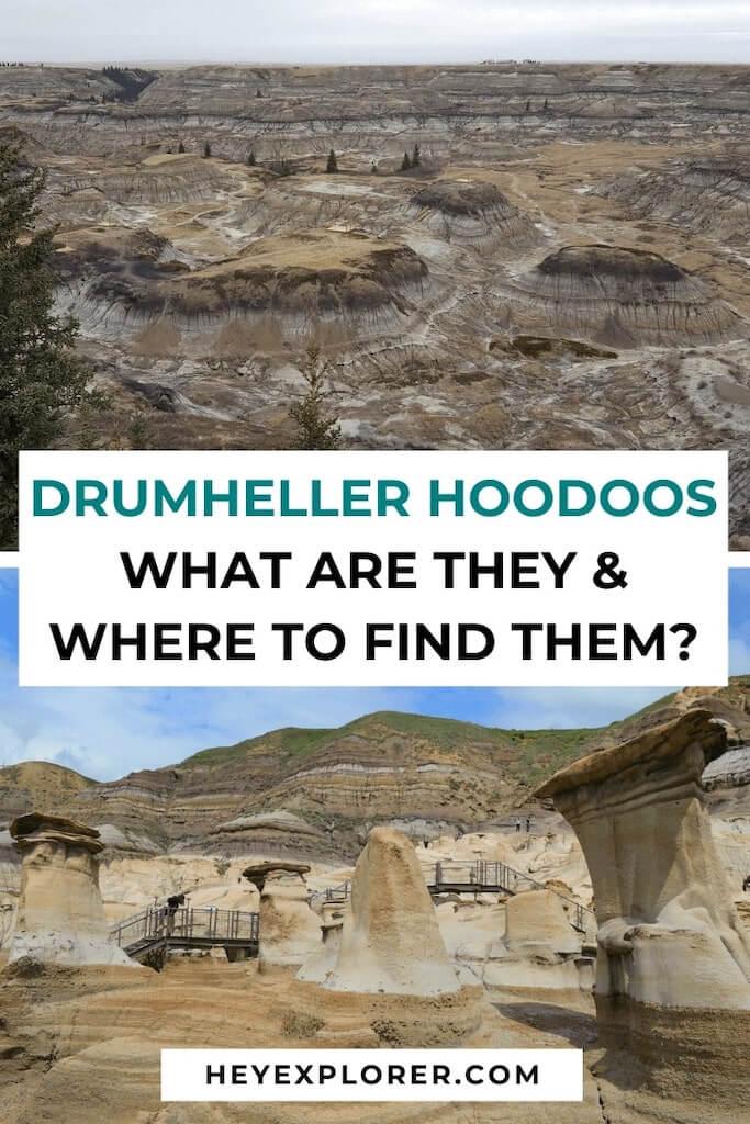 what are drumheller hoodoos