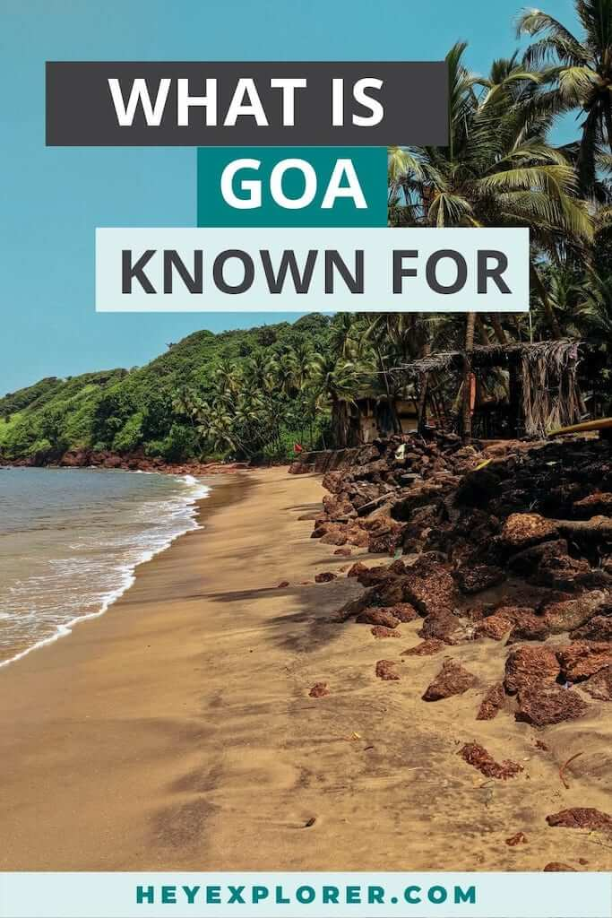 what is goa known for