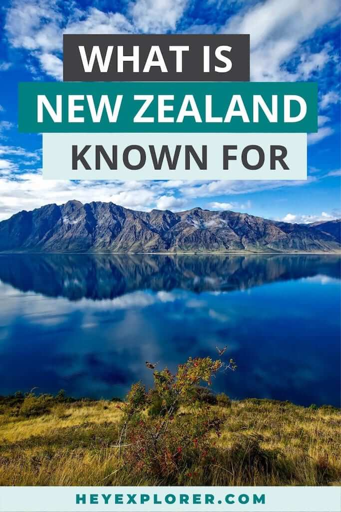 what is new zealand known for