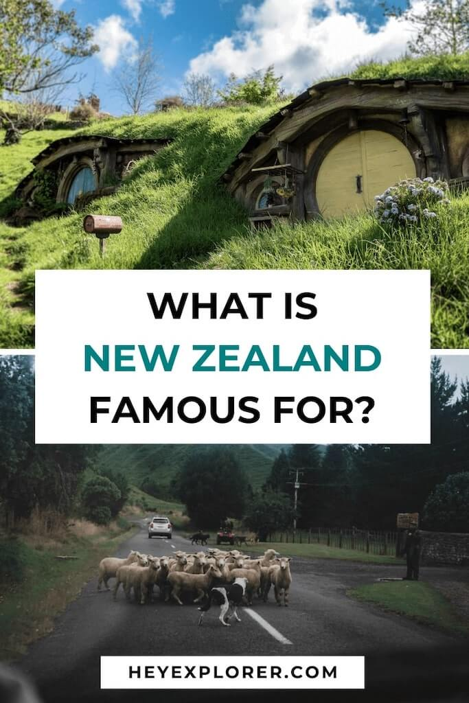 what new zealand is famous for