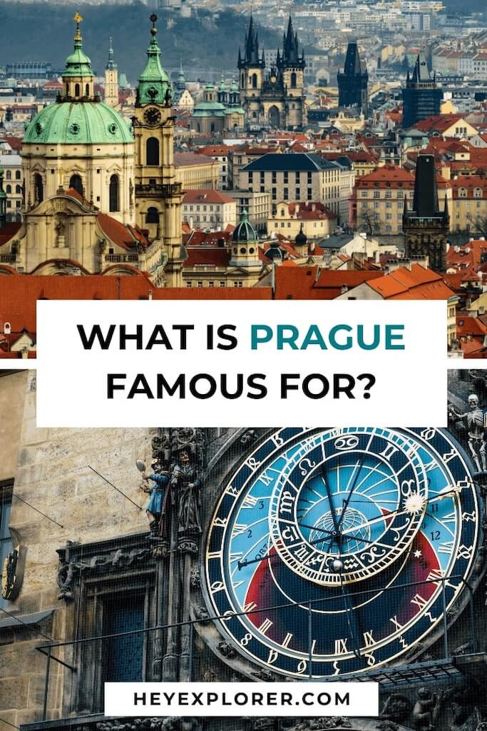 what prague is famous for