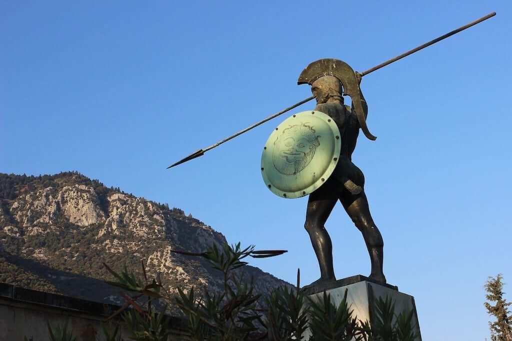 300 monument greece