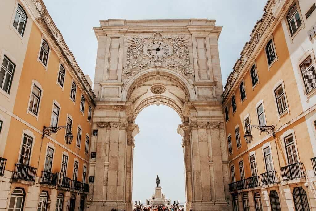 """""""Arco Triunfal"""" in Terreiro do Paço, Lisbon"""