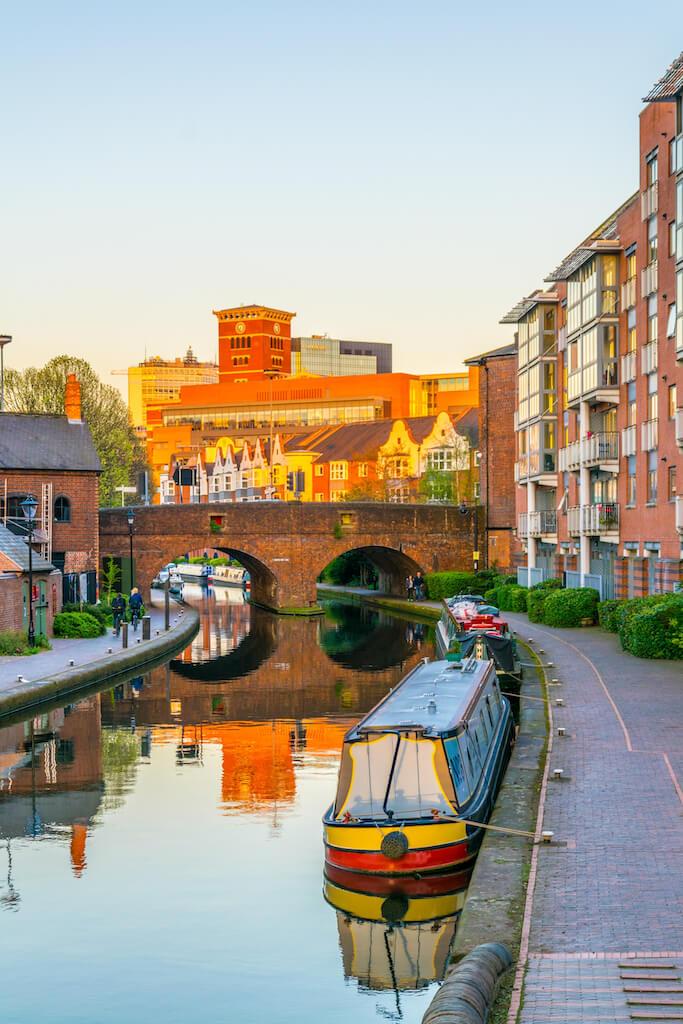 Canals in Birmingham