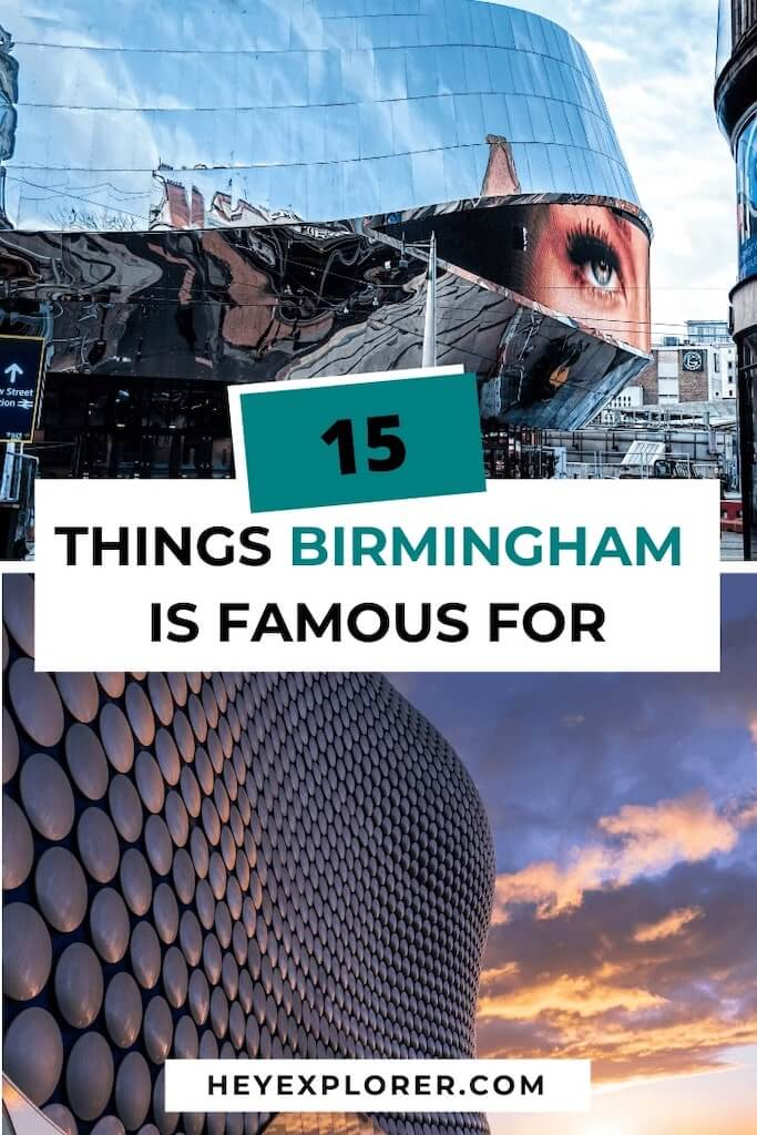 birmingham famous for what