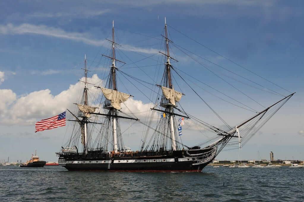 boston uss constitution ship