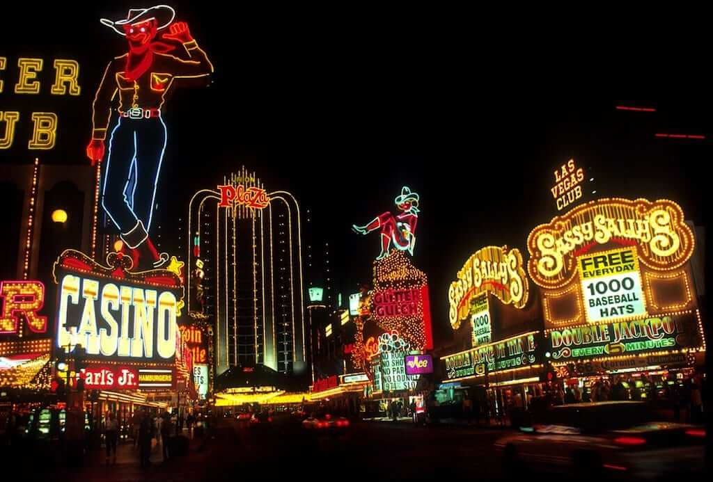 casino lights vegas