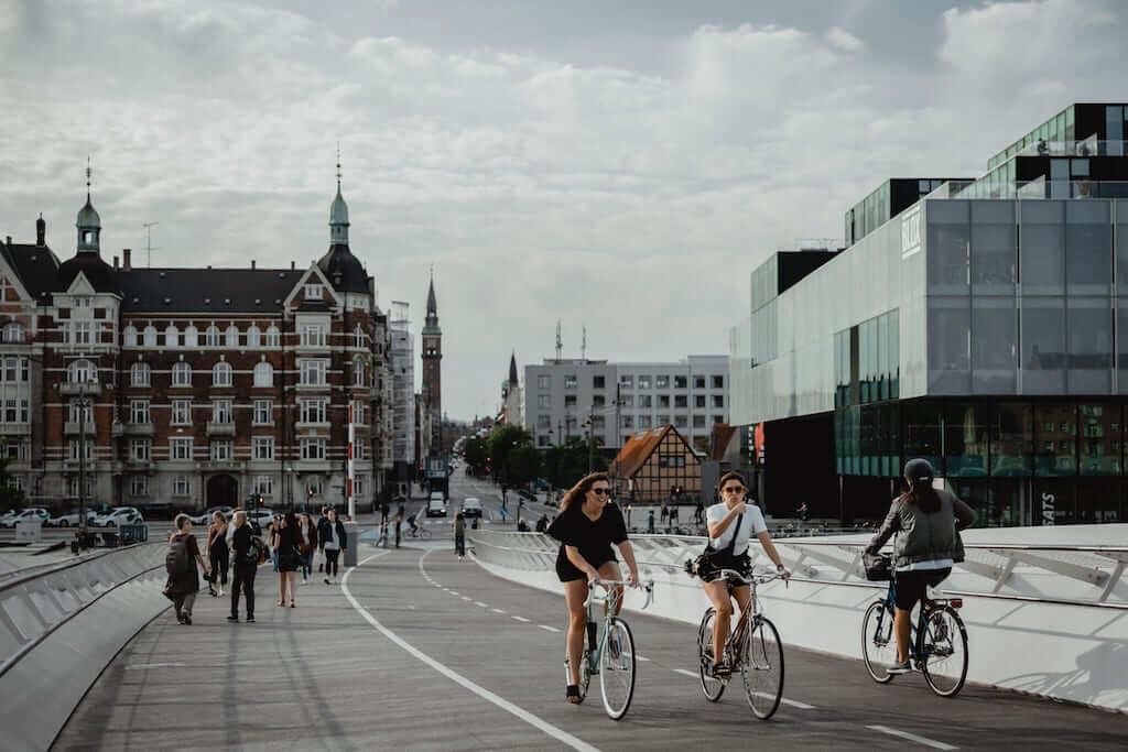 cyclists copenhagen